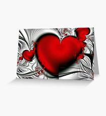 Bleeding Love Greeting Card