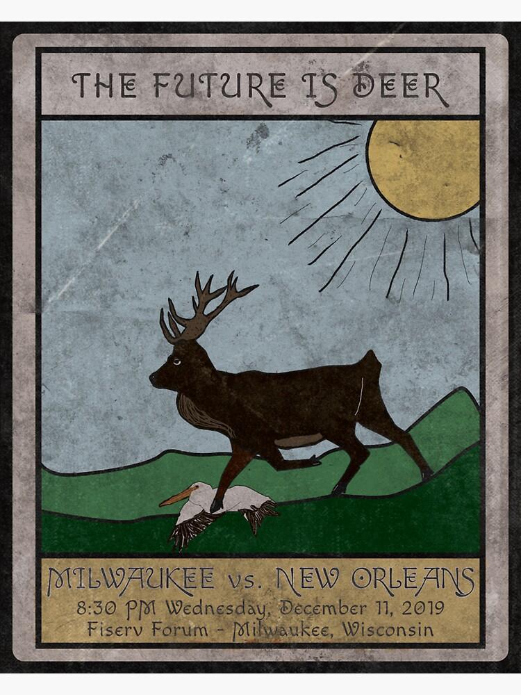 The Future is Deer by AJW3-Art