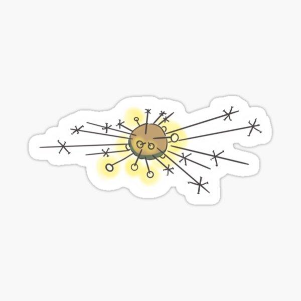 the comet Sticker