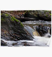 a stones flow Poster
