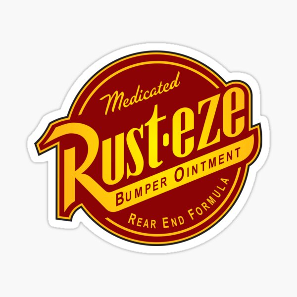 Rust-eze Sticker