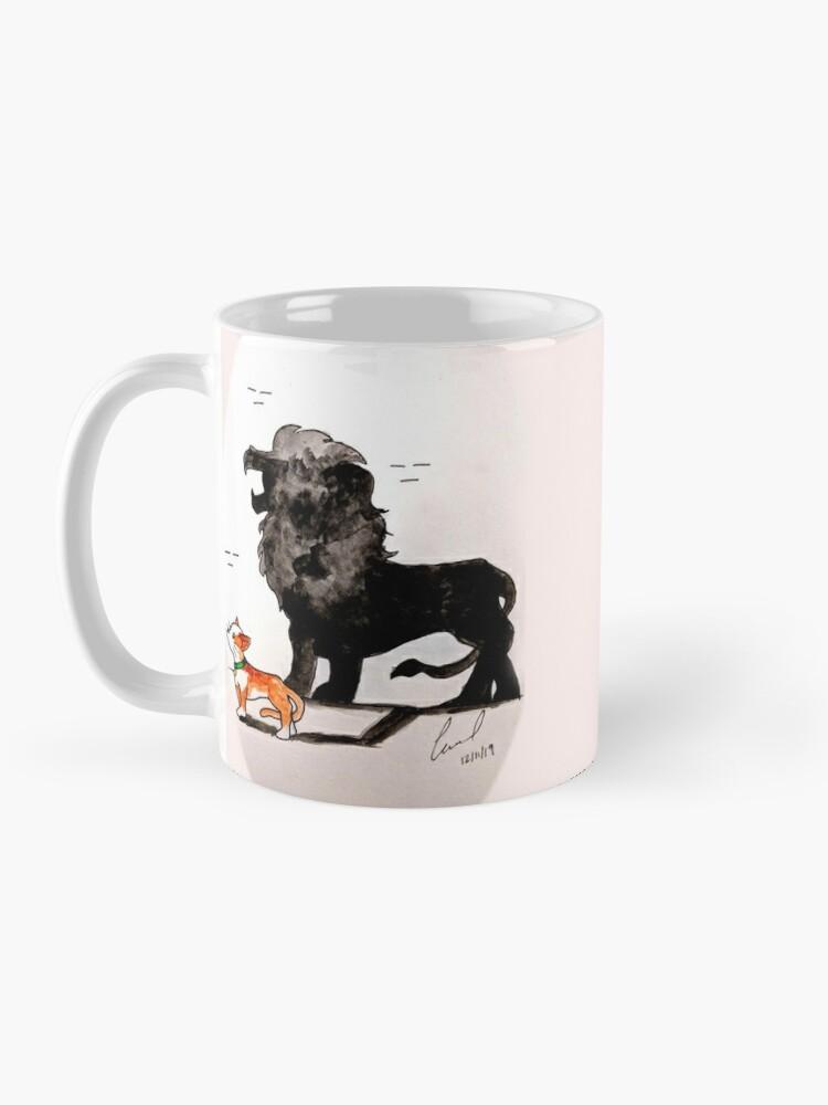Alternate view of Source of Strength Series: Cat Mug