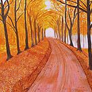 Autumn Walk by Sesha