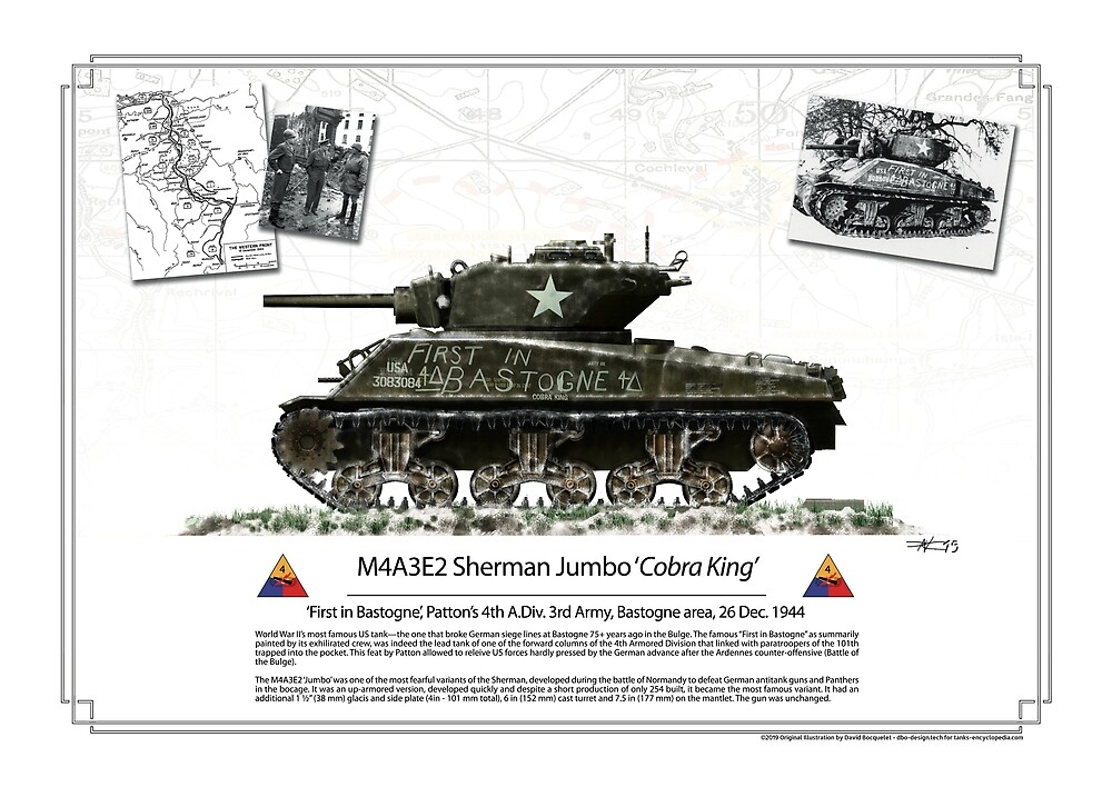 cobra King forst in Bastogne poster