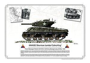 cobra King first in Bastogne poster