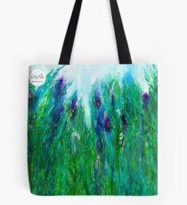 Wild Iris Tote Tote Bag