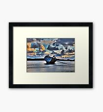 Donegal Shipwreck (Eddies boat) Framed Print