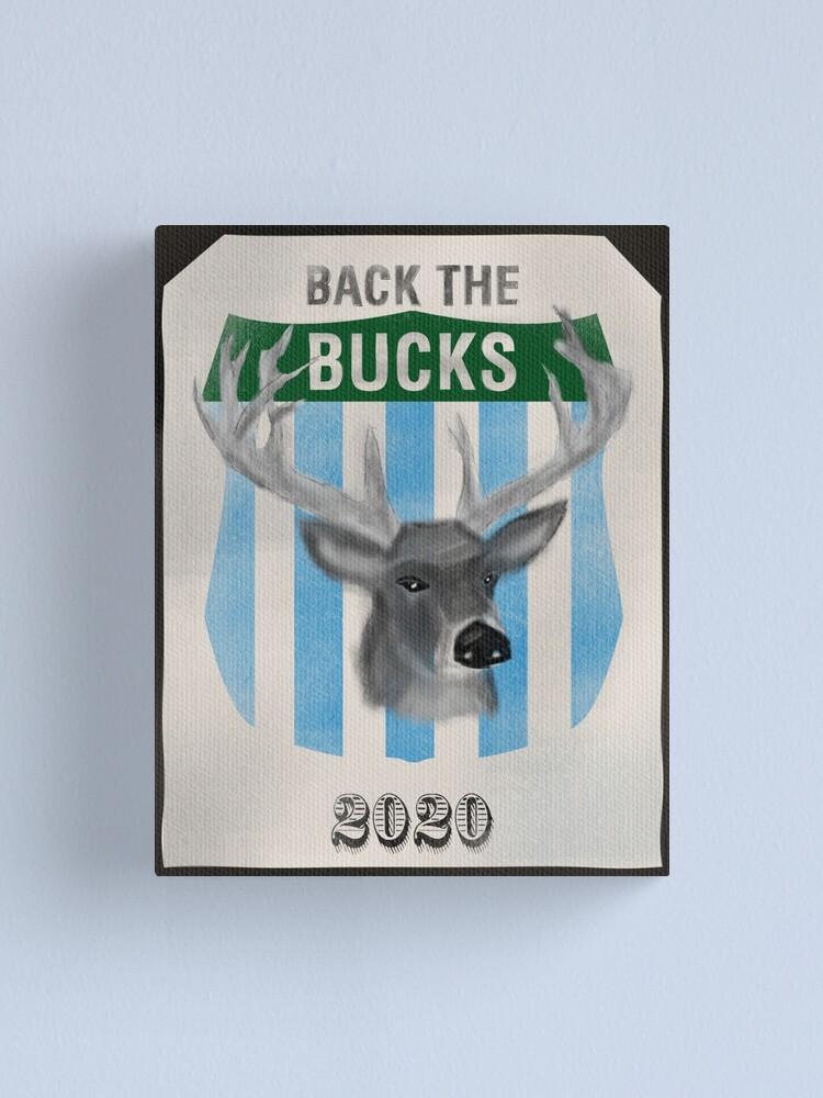 Alternate view of Back the Bucks 2020 Team Canvas Print