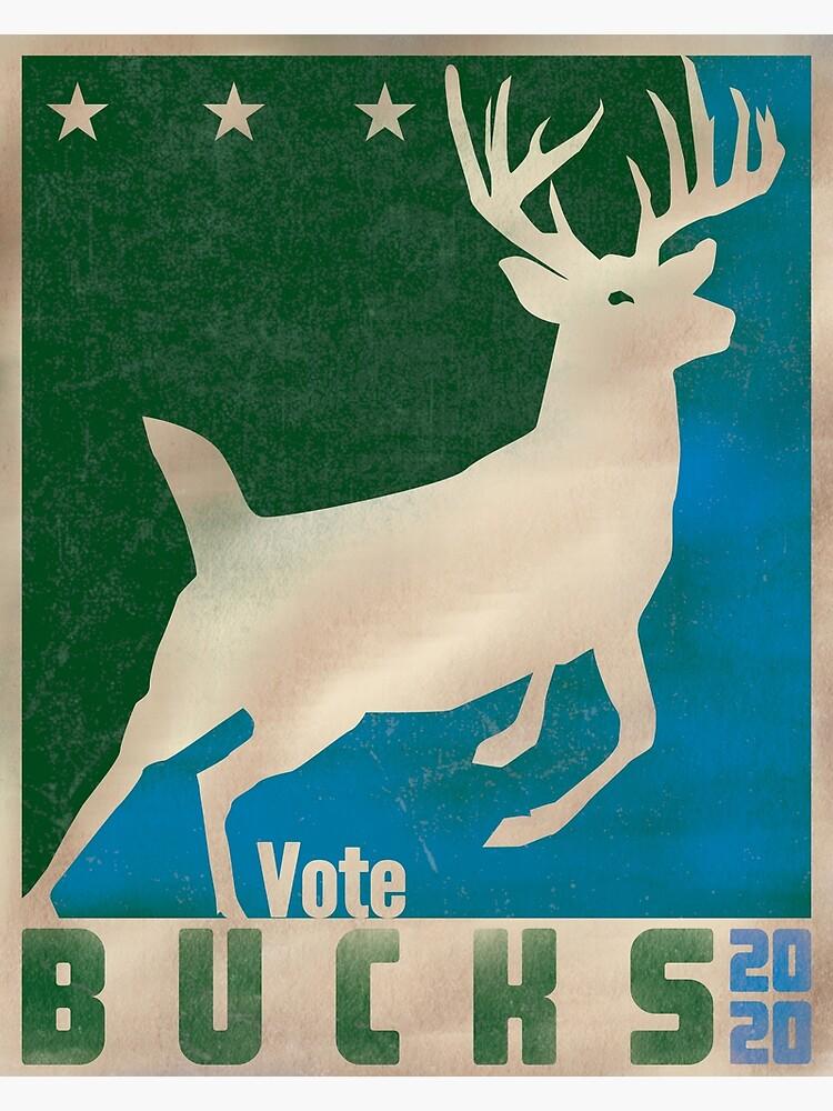 Vote Bucks - 2020 by AJW3-Art