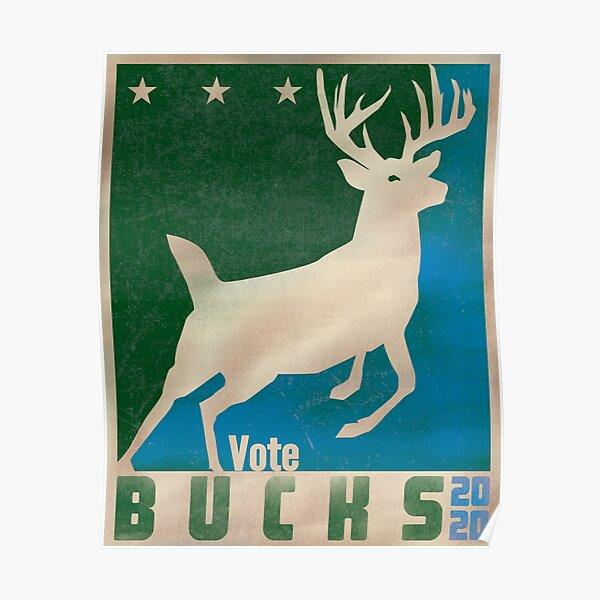 Vote Bucks - 2020 Poster