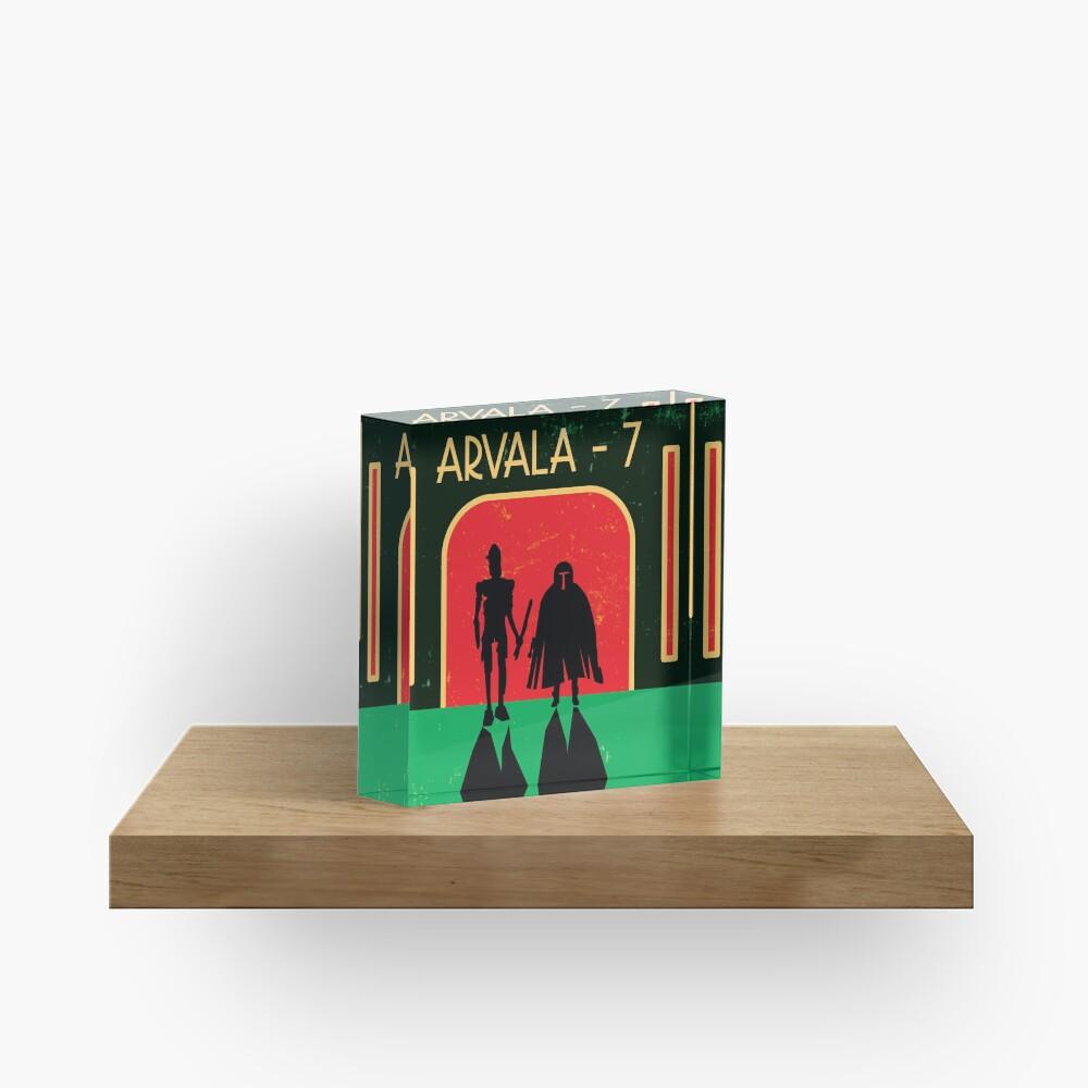Arvala-7 Acrylic Block