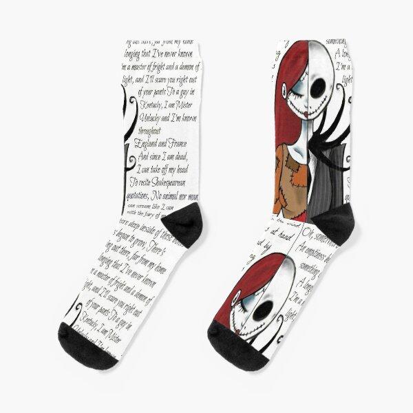 Nightmare Before Christmas Socks