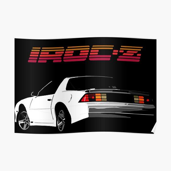 1987 5.7 IROC Z Logo Poster