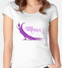 Count Batcula Women's Fitted Scoop T-Shirt