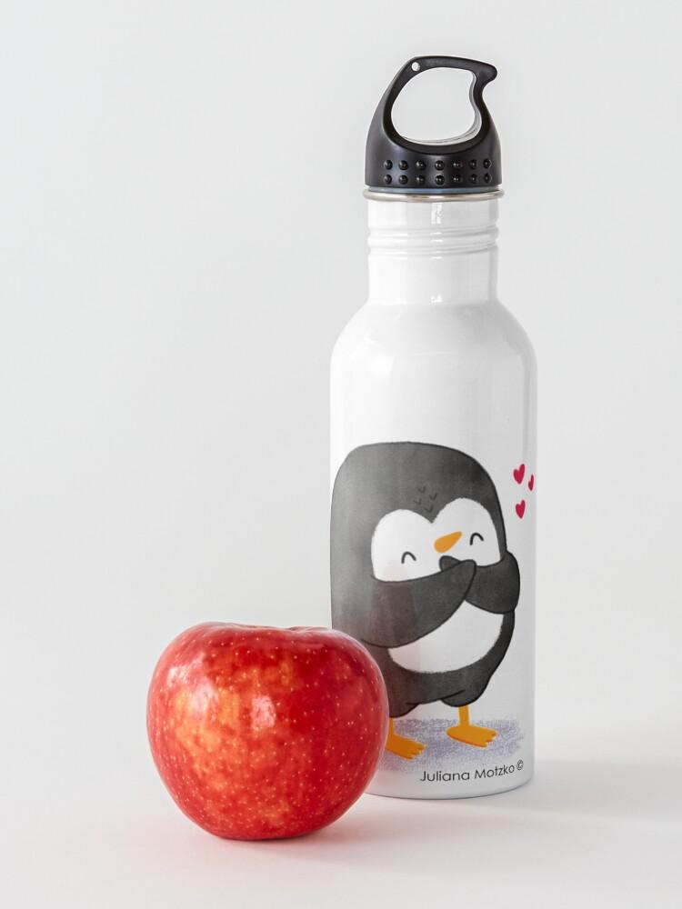 Alternate view of Penguin in Love 2 Water Bottle