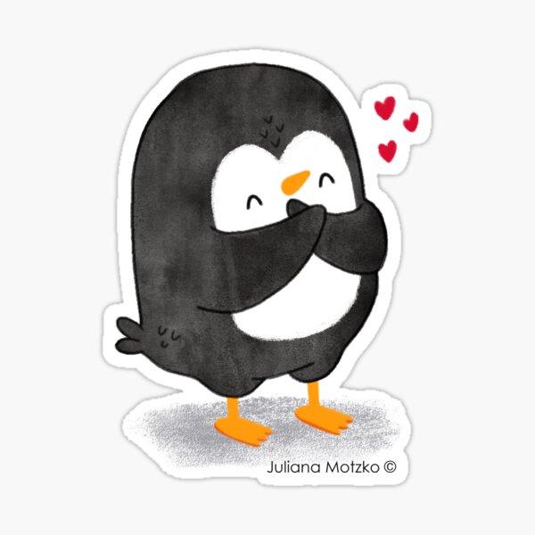 Penguin in Love 2 Sticker