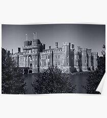 Herstmonceux Castle B&W Poster