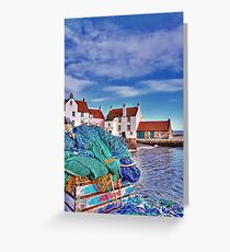 The Gyles at Pittenweem Greeting Card