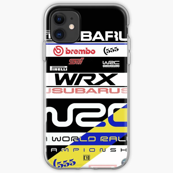 Subaru Rally 555 iPhone Soft Case