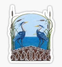 Herons Renewal Sticker