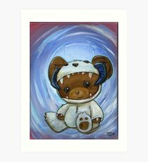 Mr. Chompypants meets a Wampa Art Print