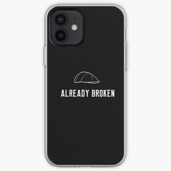 already broken iPhone Soft Case