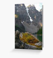 Lake Moraine Greeting Card