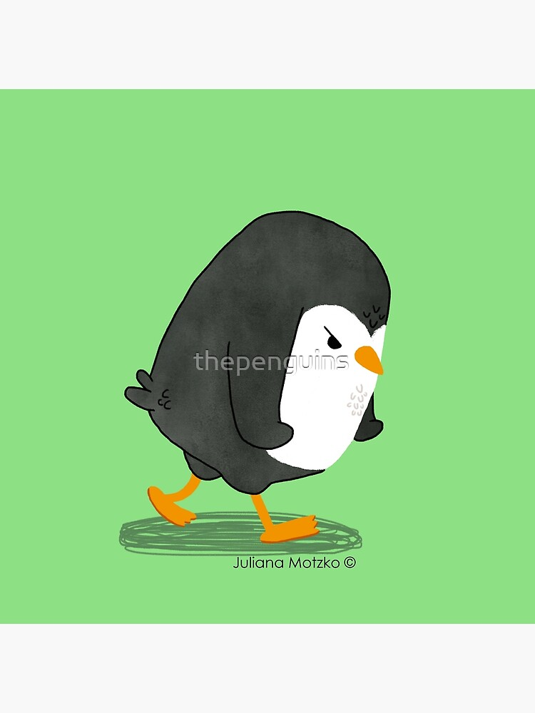 Grumpy Penguin 2 by thepenguins