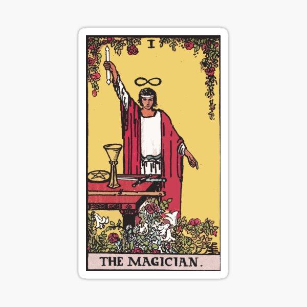 Tarot - The Magician Sticker