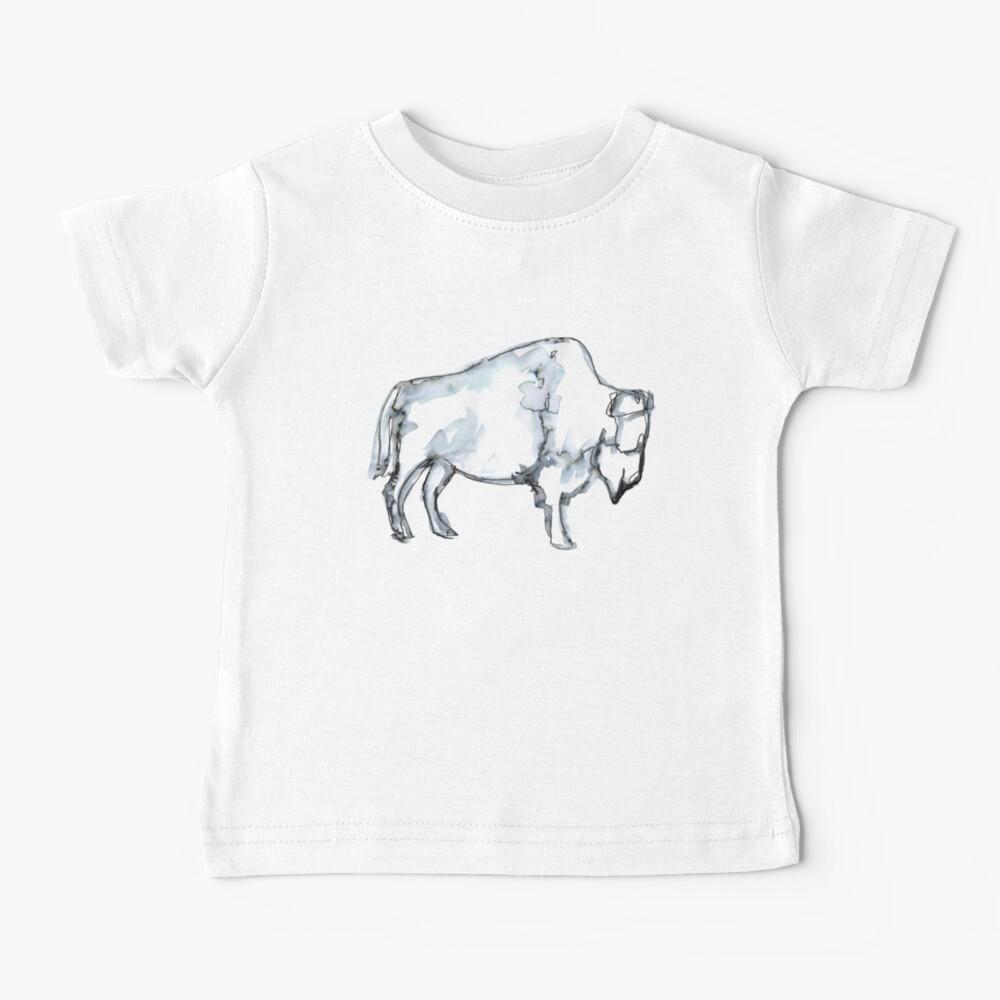 Buffalo, watercolor Baby T-Shirt