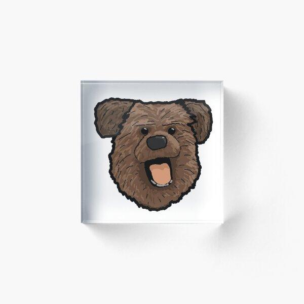 Hacker T Dog From CBBC Acrylic Block