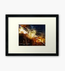 """""""Painted with Light"""" Framed Print"""