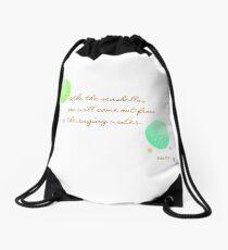 Seashells Drawstring Bag