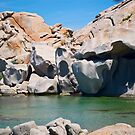 Rocks on Lavezzi Island by Alessandra Antonini