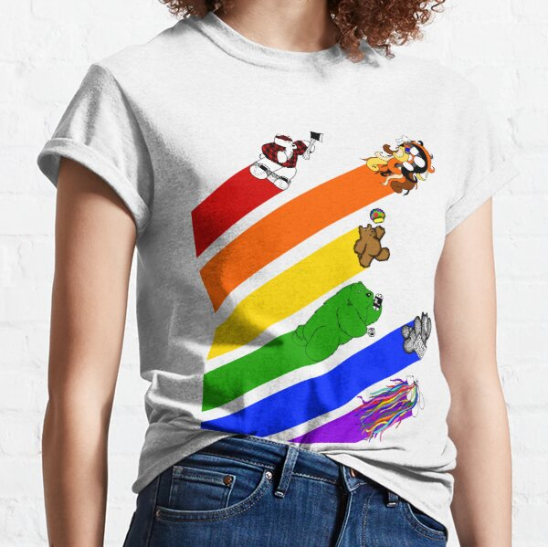 The Super Best Bears - Pride Classic T-Shirt