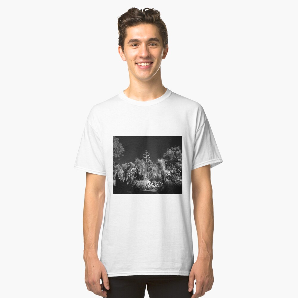 Cactus Garden, Capitol Park, Sacramento California Classic T-Shirt
