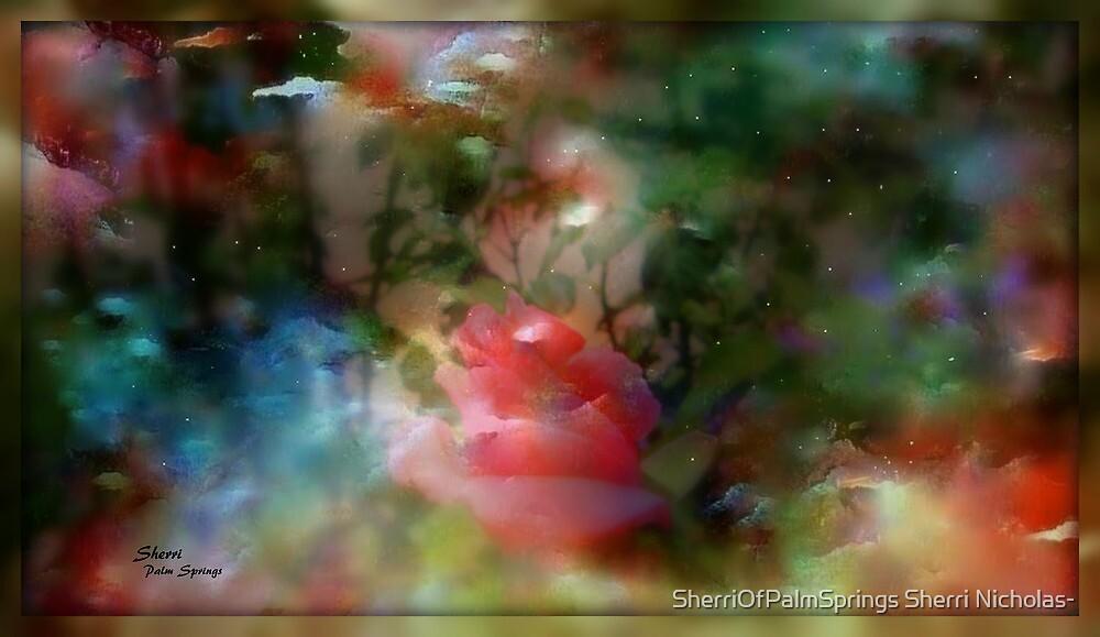 MYSTERIOUS GARDEN...PLEASE VIEW LARGER by SherriOfPalmSprings Sherri Nicholas-