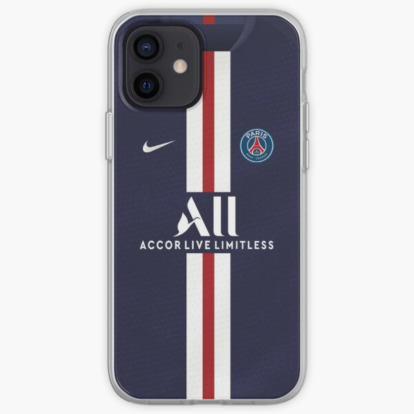 PSG HOME JERSEY 2019/20 Funda blanda para iPhone