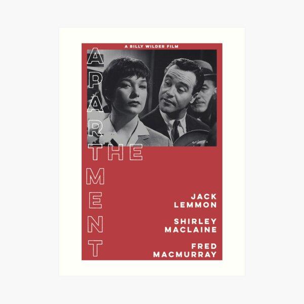 THE APARTMENT 1960's alternative movie poster Art Print