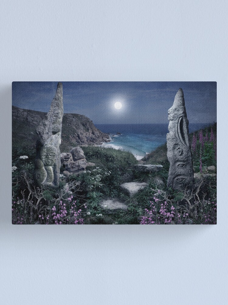 Alternate view of Magical Cornwall Canvas Print