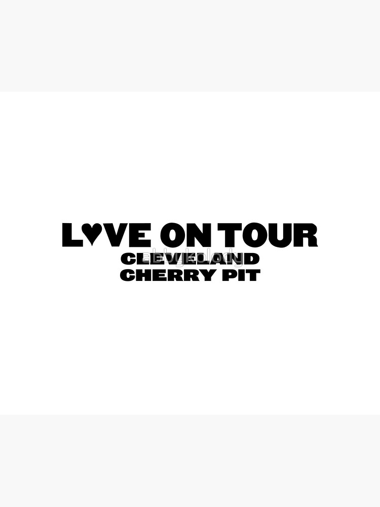 Harry Styles Love On Tour Cleveland Cherry Pit by abbykolody