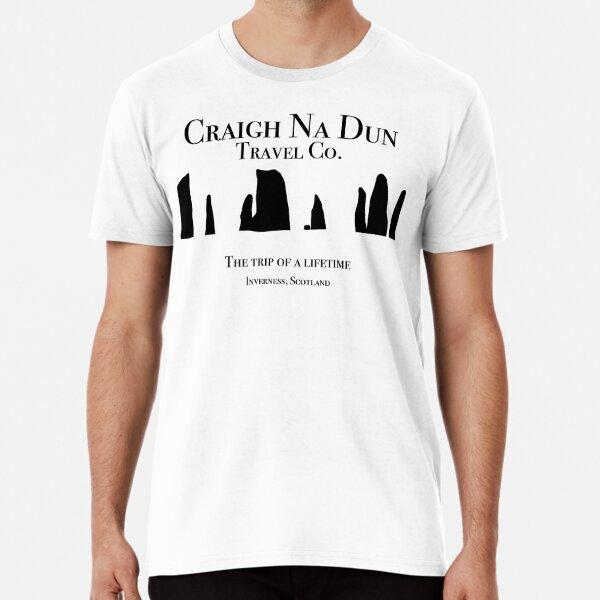 T-shirt Outlander Craigh Na Dun Travel Co T-shirt premium