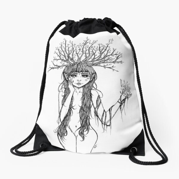 Fairy of Life Drawstring Bag