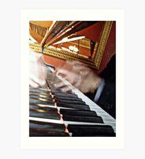 The Piano Man Art Print