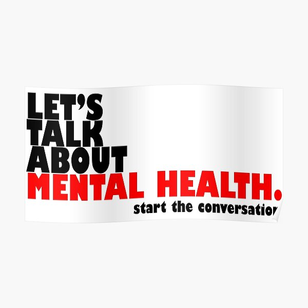 Start the Conversation - Mental Health Poster