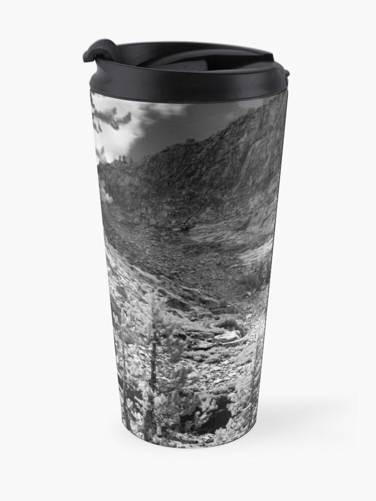 Alternate view of Ten Lakes Basin - Yosemite N.P. Travel Mug