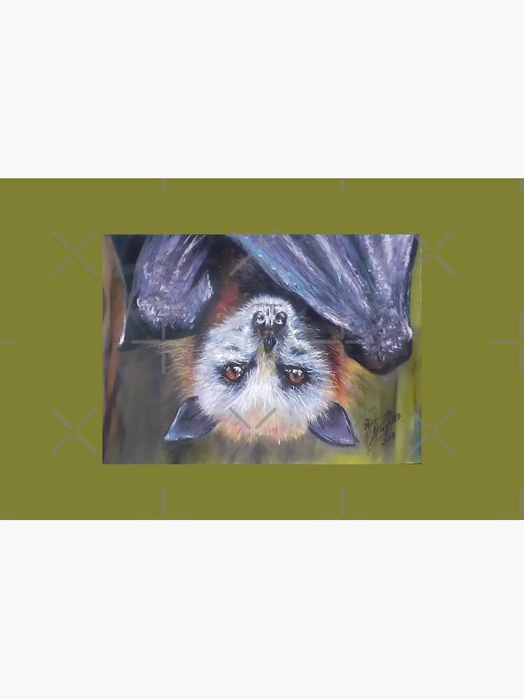 Batzilla - Serious Bat by Herminia Mesquita by batzilla