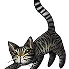 Tabby Cat by mikelevett