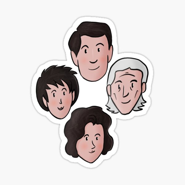 TARDIS TEAM (1) Sticker