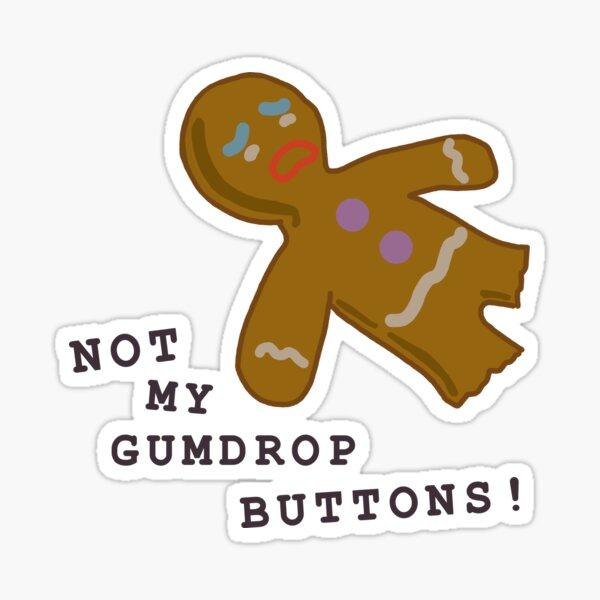 Gumdrop Buttons Sticker